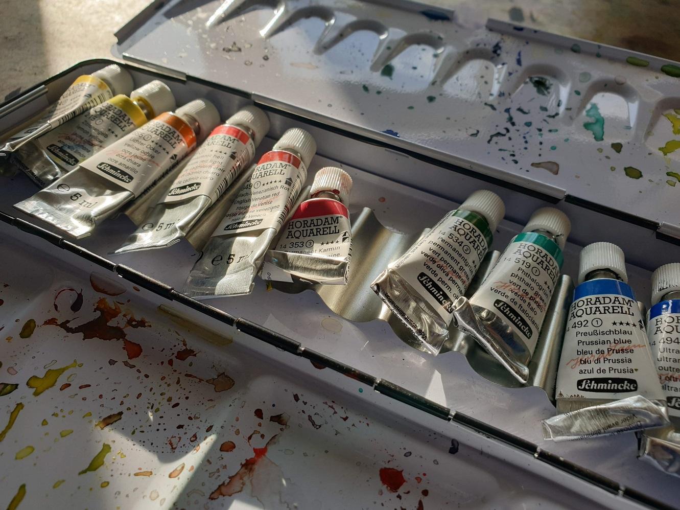 Jak si vybrat akvarel – díl druhý